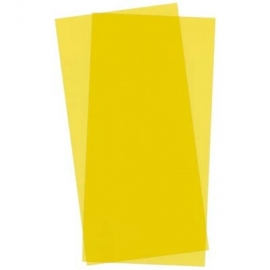 "PVC plaat YELLOW  ""EVERGREEN 9904"""
