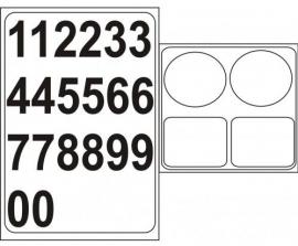 R_Racenummer met achterplaat  B-RCN10