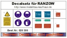 Decal set voor de Ranzow 025 053