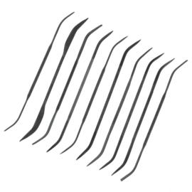 10 delig set VIJLEN (PFL6003)