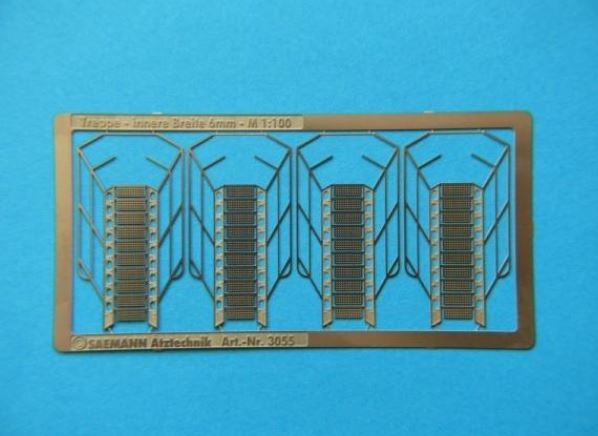 800 340 Trap 29 x 6mm (1:100) 4 stuks