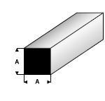Vierkant  2,5mm  407-54 (3x 33cm)
