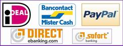 Betaal opties / Payment options