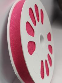 DDB786 Biaisband katoen - 12mm - fuchsia- verkocht per 10 cm