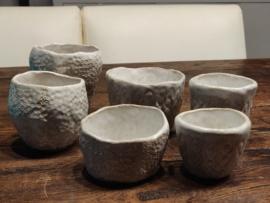 Duimpotjes maken in keramiek - data volgen later