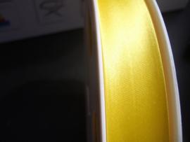 F- Col. 591 - Biaislint satijn - felgeel - per 10 cm
