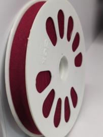 DDB763 Biaisband katoen - 12mm - wijnrood- verkocht per 10 cm