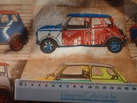 Vintage Cars- by Poppy - ( per 10cm)