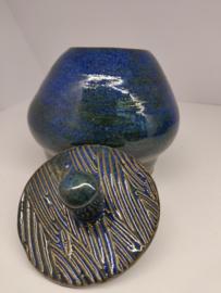 Pot met deksel Kobaltblauw