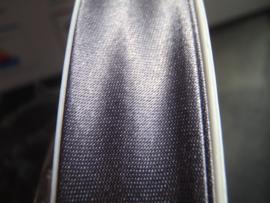F- Col. 132 - Biaislint satijn - donkergrijs - per 10 cm