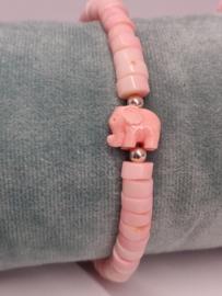 """Armband """"pink elephant full"""""""