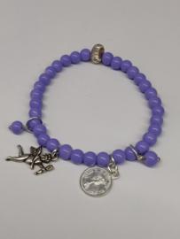 "Armband ""purple"""
