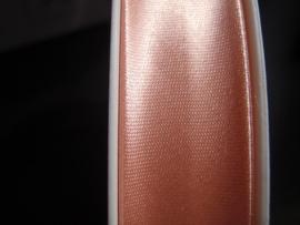 F- Col. 266 - Biaislint satijn - zacht rose - per 10 cm
