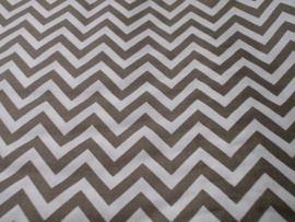 Michael Miller - Ziggi wit/beige- per 10 cm