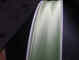 F- Col. 619 - Biaislint satijn - lichtgroen - per 10 cm