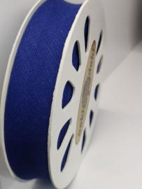 DDB201 Biaisband katoen - 20mm - kobalt blauw- verkocht per 10 cm