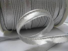 Paspelband zilver - per 10 cm