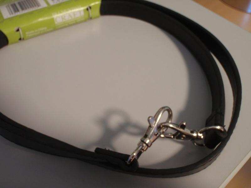 Handtasbeugel lange schouderriem 112 cm imitatieleder zwart