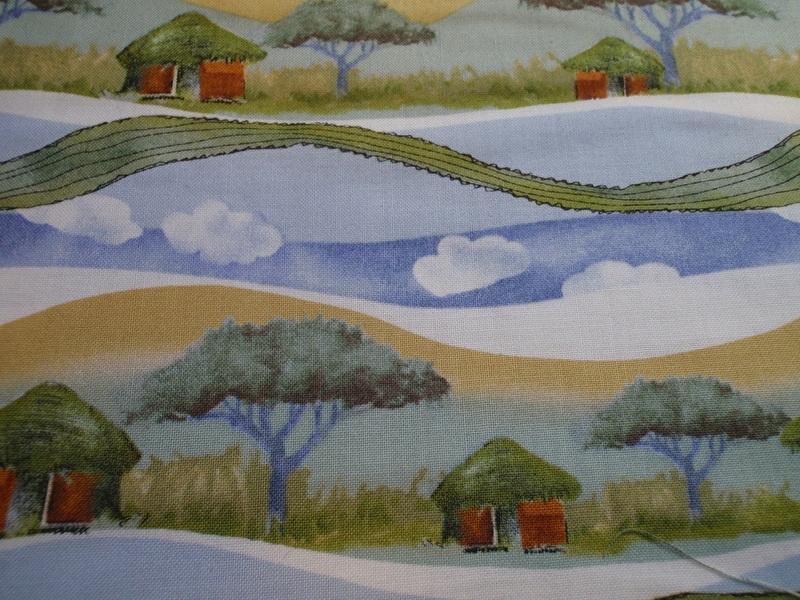Quilting Treasures - Landscape - per 10 cm