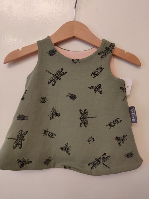 """Babykleedje/overgooiertje omkeerbaar  """"Bugs"""""""