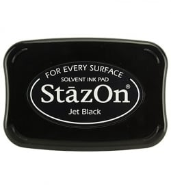 StazOn inktkussen zwart
