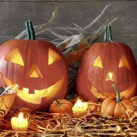 7385 Halloween Pompoenen