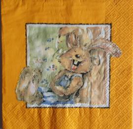 6506 Lachend konijn
