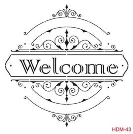 Cadence Stencil Welcome