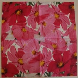 4010 Roze bloemen