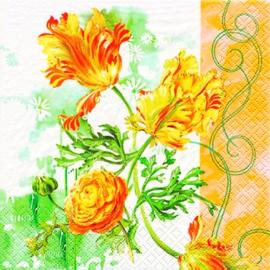 2904 Tulpen en ranonkels