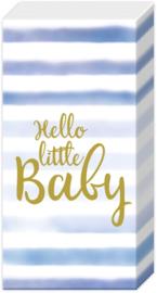 Z0586b Hello Little Baby (blauw)
