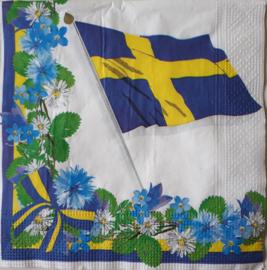 6337 Vlag van Zweden