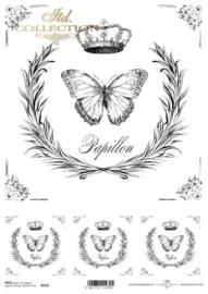 ITD R0518 Papillon / Vlinder
