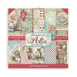 Alice in Wonderland, Paperpack (30,5 x 30,5)