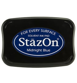 StazOn inktkussen Midnight Blue