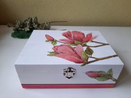 """6 vaks theedoos """"Magnolia groot"""""""