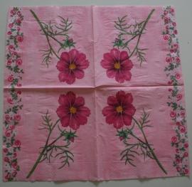 2244 roze bloemen