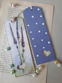 Boekenlegger Lavendel