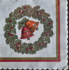 7248 Kerst (oude jaren '50 servet)
