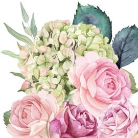 P6840 Rozen en hortensia (pakje)