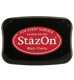 StazOn inktkussen Black Cherry