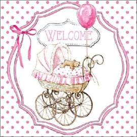 6268a baby welcome roze