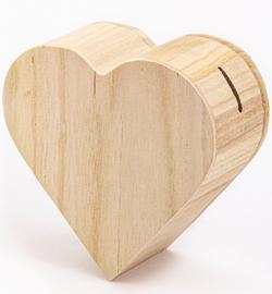 Hartvormige spaarpot