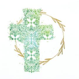 7075 Groen kruis