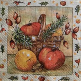 7221 Mand met appels
