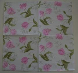 2737 lieve roze tulpjes