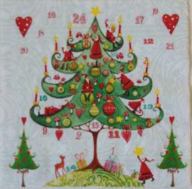 5438 Kerstboom (gekreukeld)
