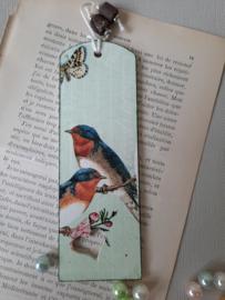 """Boekenlegger """"vogels"""""""
