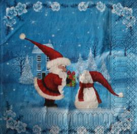 7147 Kerstman en sneeuwpop
