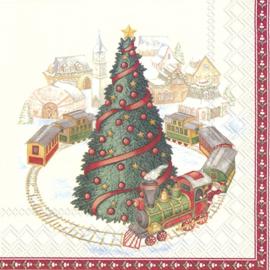 7388 Kerstboom met treintje